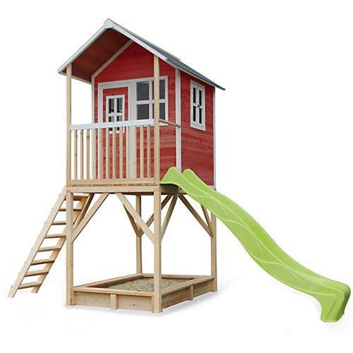 EXIT Spielhaus Loft 700 Rot (FSC 100%) rot
