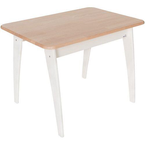 Geuther Tisch Bambino, weiß/natur
