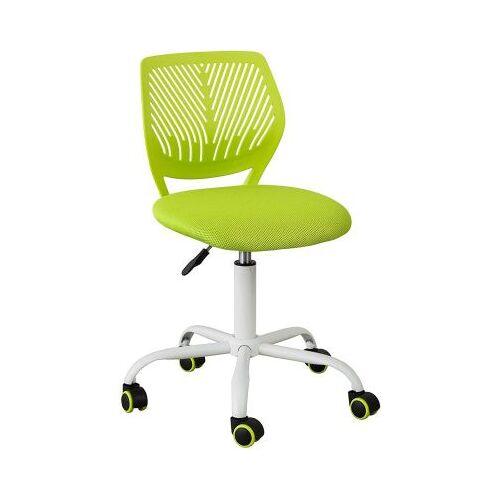 SoBuy® Drehstuhl mit Rücklehne, höhenverstellbar grün