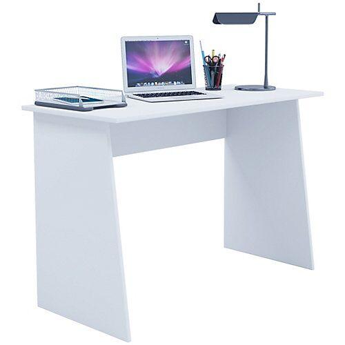 """VCM """"Schreibtisch Computertisch Arbeitstisch Büromöbel PC Tisch """"""""Masola Maxi"""""""" weiß"""""""