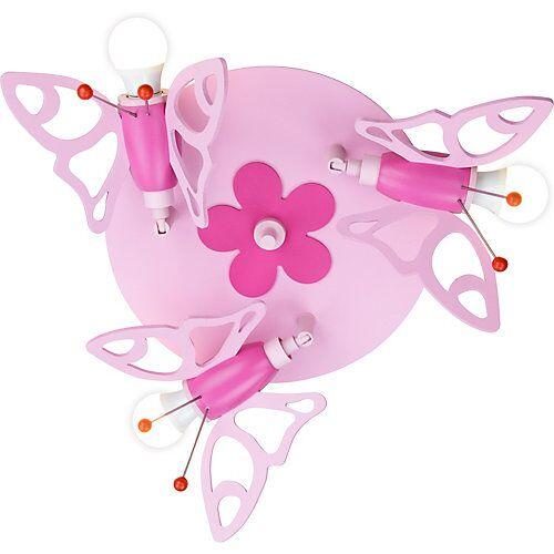 Elobra Deckenleuchte Rondell Falter rosa