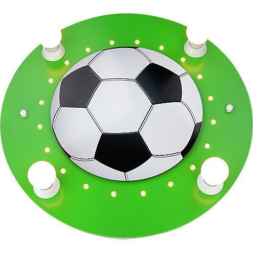 Elobra Deckenleuchte Fußball, grün