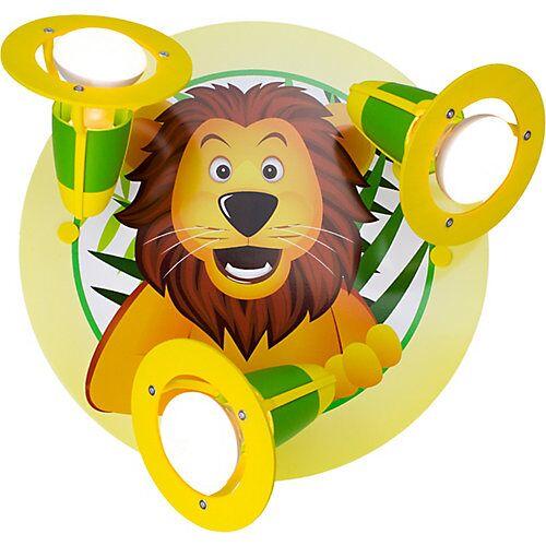 Elobra Deckenleuchte Rondell Löwe gelb