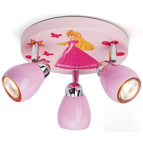Brilliant Deckenlampe Prinzessin rosa
