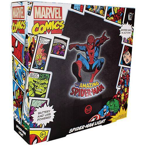 Spiderman Marvel Comics Spiderman Licht ca. 25cm