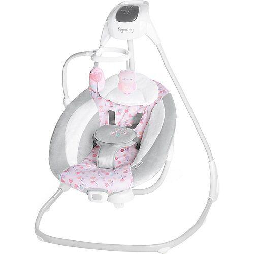 Ingenuity Schaukel Simple Comfort Cassidy, grau/rosa
