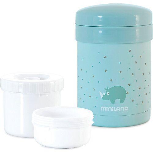 Miniland Thermobehälter Thermetic, 600 ml, blau