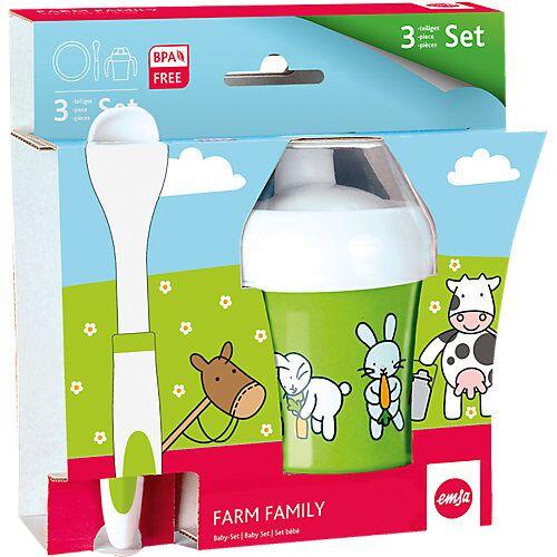 Emsa Baby-Geschirr-Set Farm Family, 3-tlg.