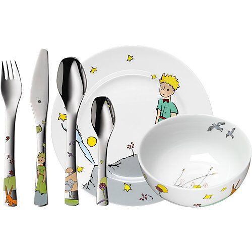 WMF Kindergeschirr- und besteck Der Kleine Prinz, 6-tlg. grau/gelb