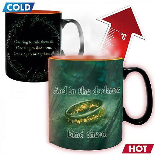 Tasse Herr der Ringe Sauron 460ml (Thermoeffekt)