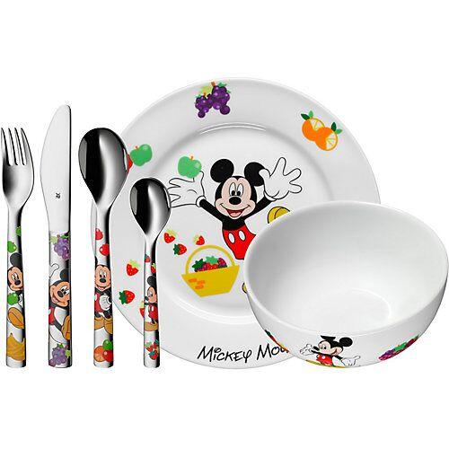 WMF Kindergeschirr- und besteck Disney Mickey Mouse, 6-tlg. bunt