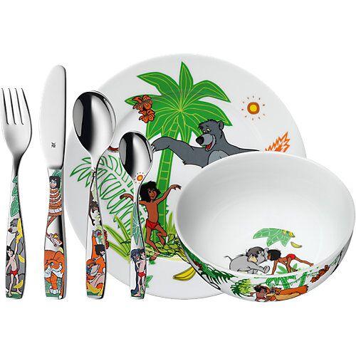 WMF Kindergeschirr- und besteck Dschungelbuch, 6-tlg. natur/grün
