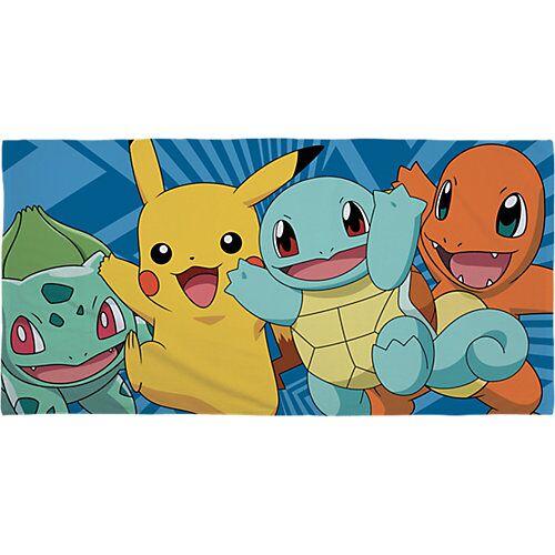 Pokemon Strand- und Badetuch Pokemon, 70 x 140 cm blau