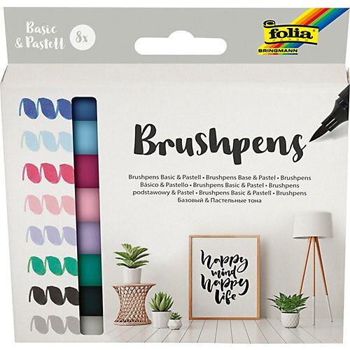 Folia Brushpens, 8er Set