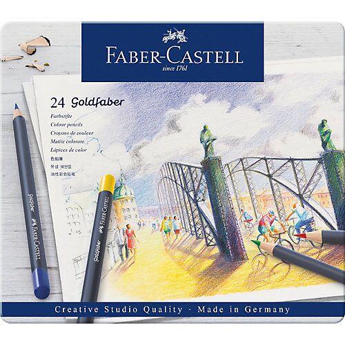 Faber-Castell Buntstifte Goldfaber, 24 Farben