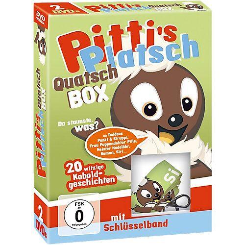 DVD Pitti's Platsch Quatsch Box (2 DVDs + Pittiplatsch-Schlüsselband) Hörbuch