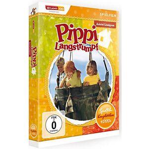 DVD Pippi Langstrumpf - Film-Box (4 DVDs) Hörbuch