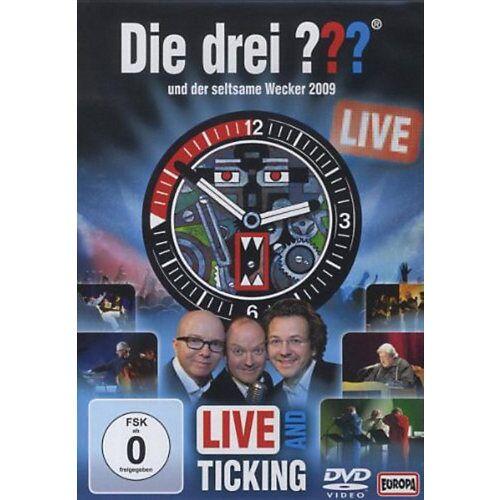 DVD Die drei ??? - Der seltsame Wecker LIVE Hörbuch