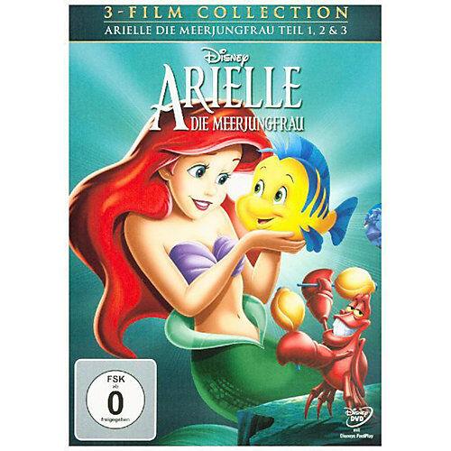 DVD Arielle, die Meerjungfrau 1-3 Hörbuch