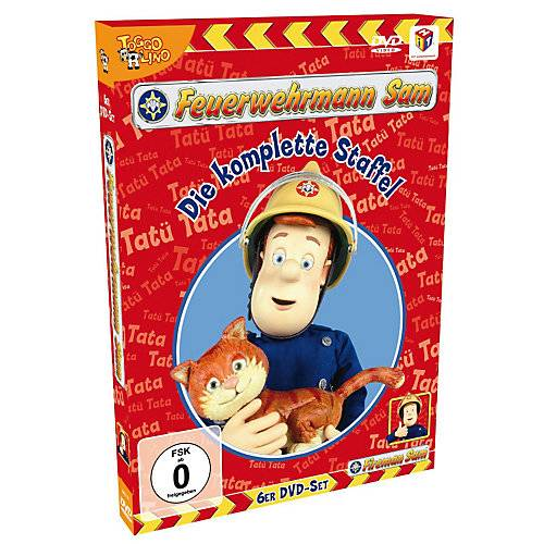 DVD Feuerwehrmann Sam - Die komplette Staffel Hörbuch