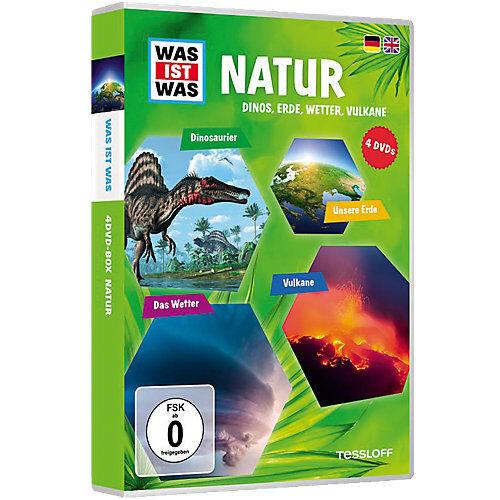DVD Was ist Was - Natur - Box1 Hörbuch