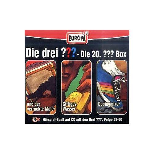 Die drei Fragezeichen, Die 20. Box, Folge 58-60, 3 Audio-CDs Hörbuch