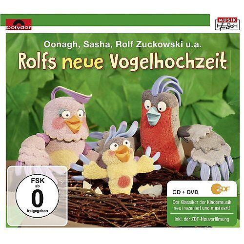 DVD Rolfs neue Vogelhochzeit (CD + DVD) Hörbuch