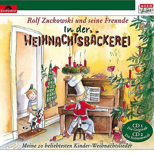 XMS CD Rolf Zuckowski - In der Weihnachtsbäckerei Hörbuch