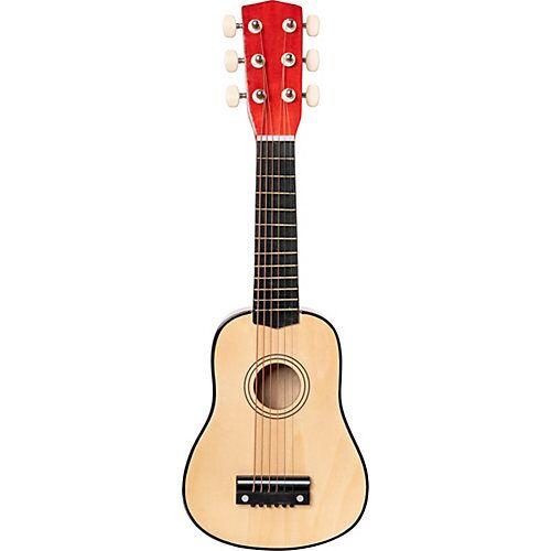 myToys Gitarre Holz 53 cm, natur beige/schwarz