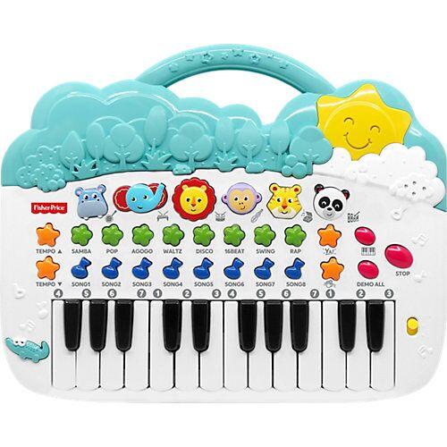 Mattel Fisher Price Animal Piano blau/weiß