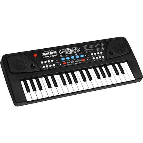 Keyboard 37 Tasten, mit Mikrofon und USB Kabel