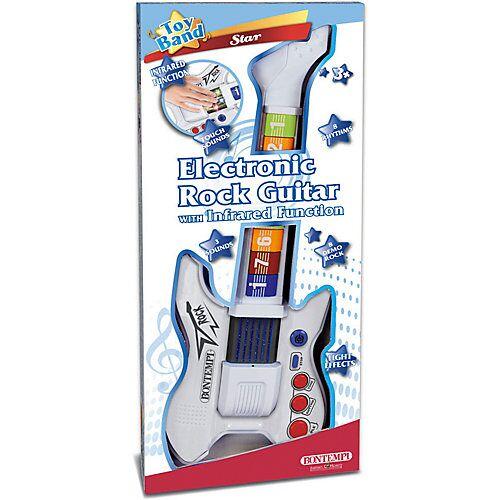Bontempi Elektronische Rock-Gitarre weiß