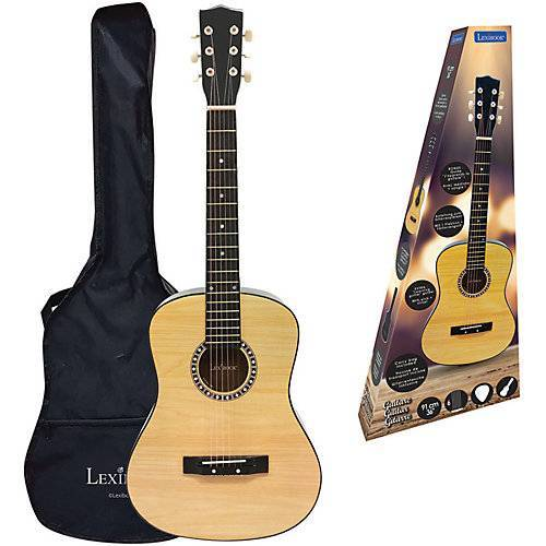 LEXIBOOK Akustische Holzgitarre,  91 cm beige