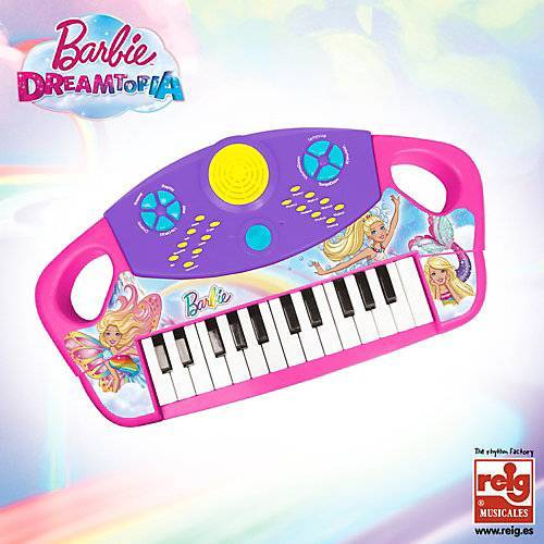 Barbie Keyboard Organo Electronico 24 Teclas weiß/beige