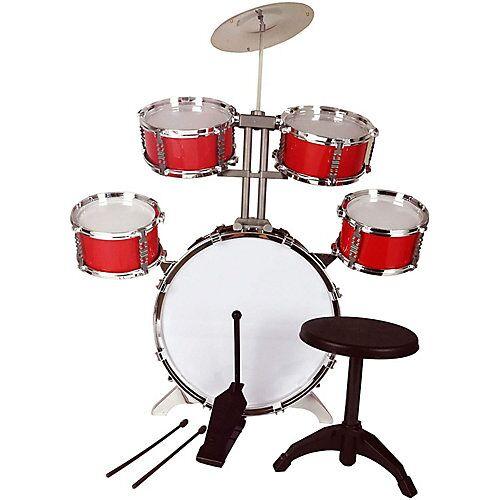 best for kids Schlagzeug XL Bass Drumsticks Drumset rot