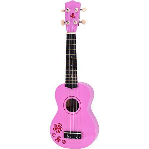 Voggenreiter Kindergitarre Pink Lady (Ukulele) 54 cm pink