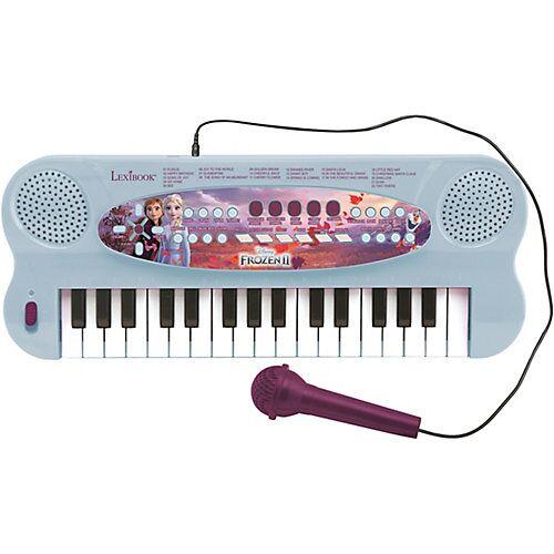 LEXIBOOK Die Eiskönigin Electronic Keyboard mit Mikrofon