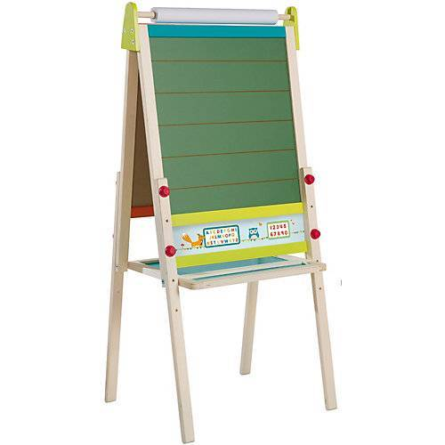 Roba Tafel mit Papierrolle & Whiteboard mehrfarbig