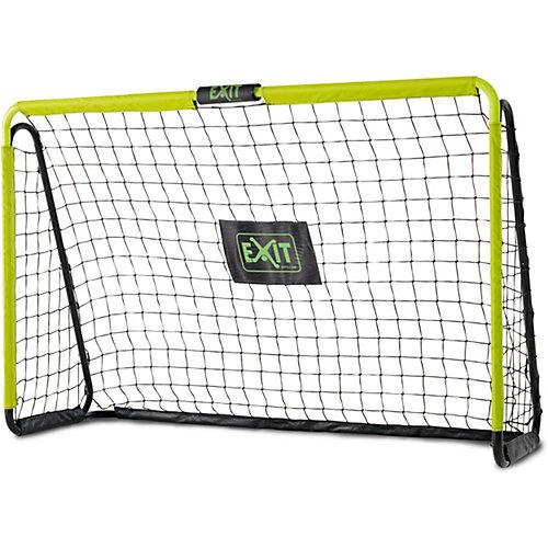 Exit Toys Tempo stählernes Fußballtor 180x120cm - grün/schwarz