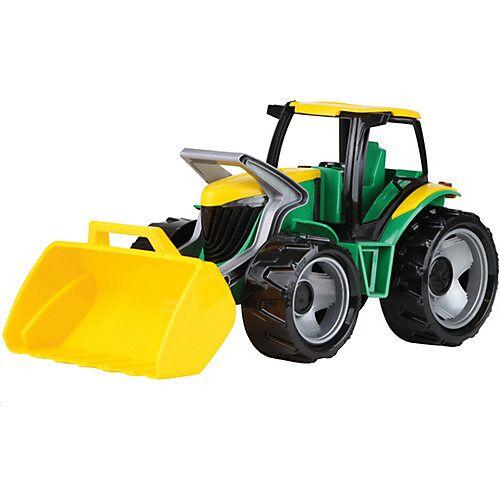 LENA GIGA TRUCKS Traktor mit Frontlader, grün
