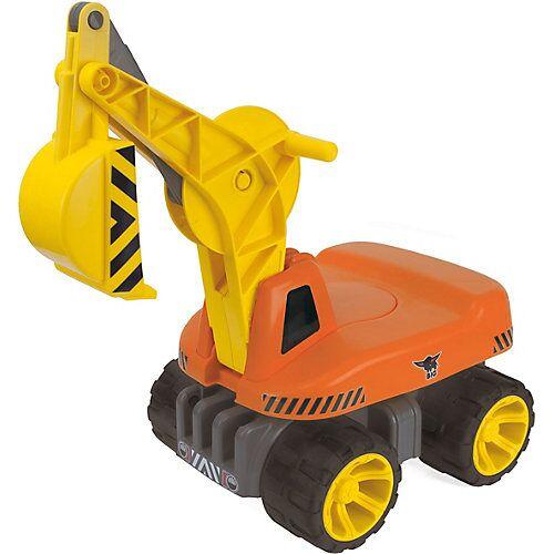 BIG Power Worker Maxi Digger Schaufelbagger orange/gelb