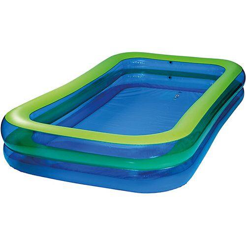 Happy People Jumbo Pool blau/grün