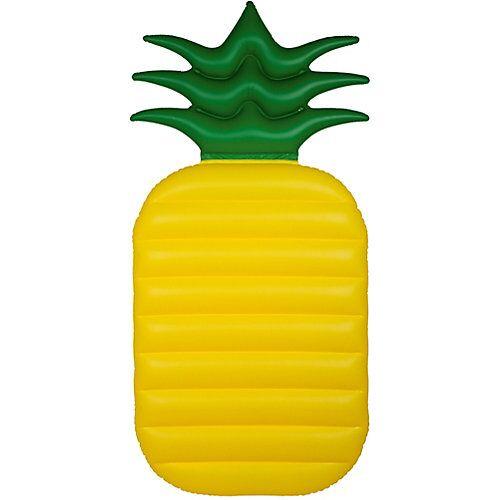 """""""Luftmatratze """"""""Ananas"""""""" gelb/grün"""""""