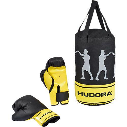 HUDORA Boxsackset Champion, 4 kg gelb