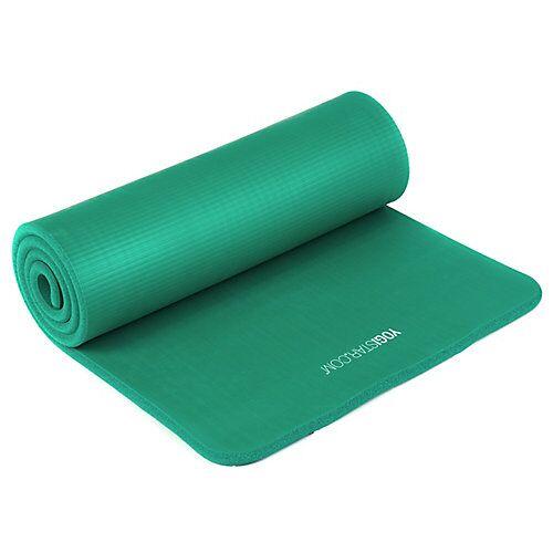 Yogistar Pilates Basic Basis-Yogamatten grün