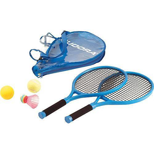 HUDORA Junior Tennisset blau