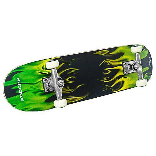 HUDORA Skateboard mit Rucksack mehrfarbig