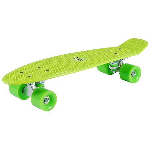 Hudora Retro Skateboard grün