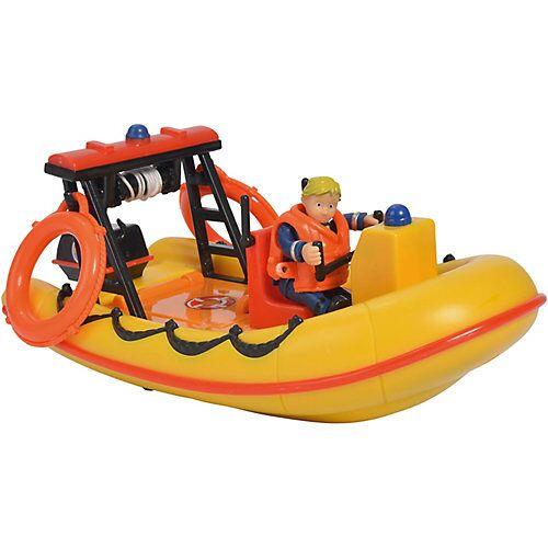 Simba Feuerwehrmann Sam - Neptune, Boot mit Figur