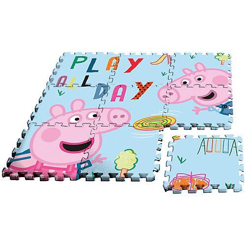 Peppa Pig Puzzlespielmatte, Moosgummi, 9-tlg.